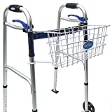 Top Glides Premium Clip-on Walker Basket