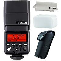 GODOX Mini TT350C TTL HSS max 1/8000s 2.4G Wireless X System Flash for Canon Cameras,5D Mark III 80D 7D 760D 60D 600D 30D 100D 1100D Digital X etc Cameras