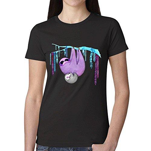 Icefish Funny Sloth Hov Womens T Shirt - Bad Girls Hawaii Club