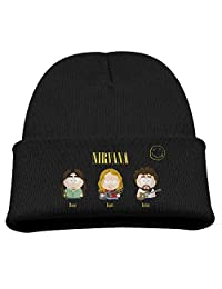 Beanie Knit Cap Nirvana Rock Band South Park Winter Warm Children's