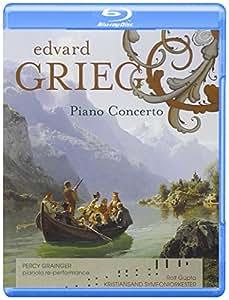 GRIEG: Klavierkonzert [BLU-RAY AUDIO] [Reino Unido]