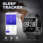 Fitness Tracker – Activity Tracker with Step Counter – Waterproof SmartWatch with Heart Rate Monitor – Fit Watch Sleep Monitor Step Counter for Android & iPhone