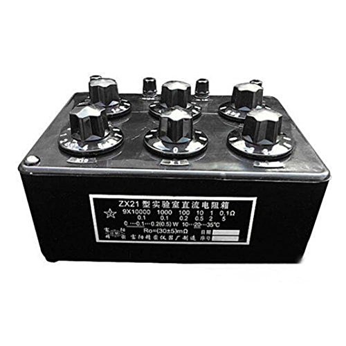 Capacitor Decade (TOPCHANCES ZX21 Precision Variable Decade Resistor Resistance Box 0.1R)