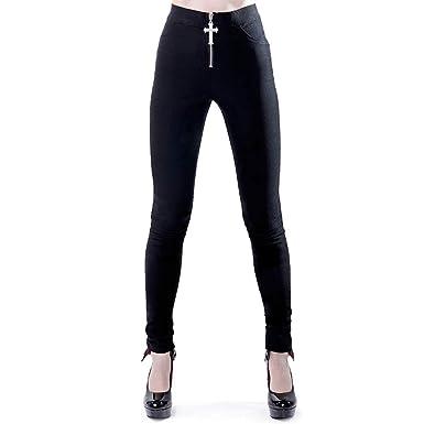 Skinny Killstar Noir Noir Vêtements Pantalon Femme 55OrwPq