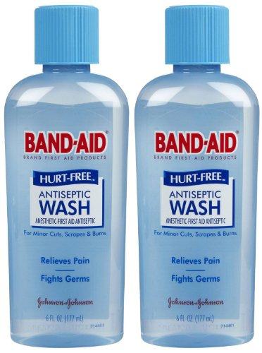Band-Aid Hurt Free Antiseptic Wash - 6 oz - 2 ()