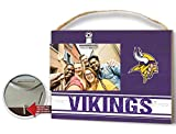 KH Sports Fan Clip It Colored Logo Photo Frame Minnesota Vikings