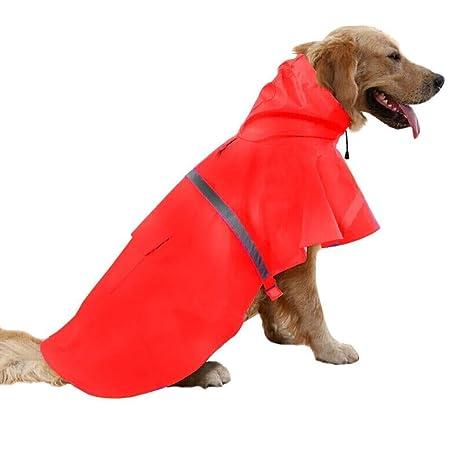 Gulunmun Chubasqueros para Perros Chubasquero para Mascotas ...
