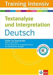 Textanalyse Und Interpretation In Schule Und Hochschule Eine