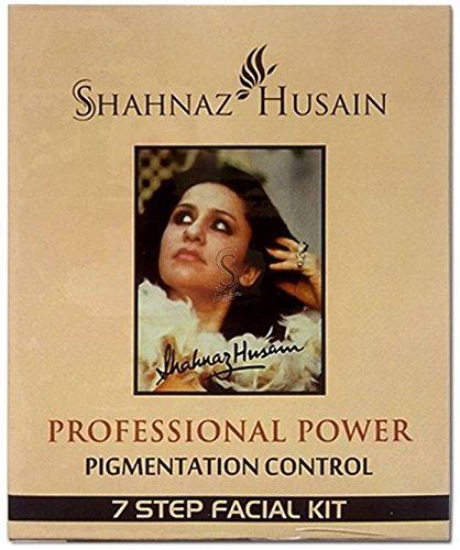 (Shahnaz Husain 7 Step Pigmentation Control Facial Kit 48 g (Set of 7))