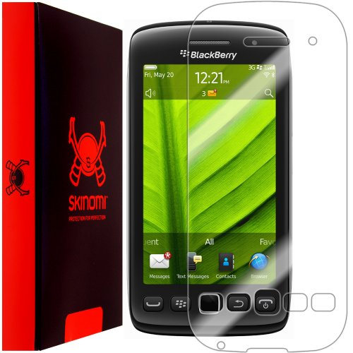 Skinomi TechSkin - BlackBerry Torch 9850 Screen Protector + Full Body Skin Protector / Front & Back Premium HD Clear Film / Ultra High Definition Invisible and Anti-Bubble Crystal Shield (Protectors 9850 Screen)