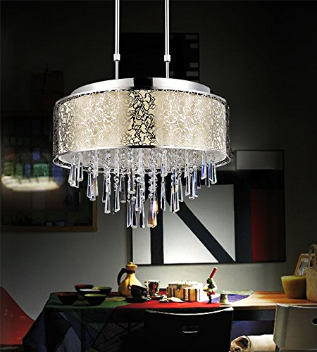 Giulia Stainless Steel Chandelier