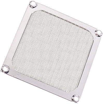 Ogquaton - Marco de malla metálica para ventilador, filtro de ...
