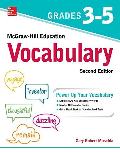 McGraw-Hill Education Vocabulary Grades 3-5, Second Edition from McGraw-Hill Education
