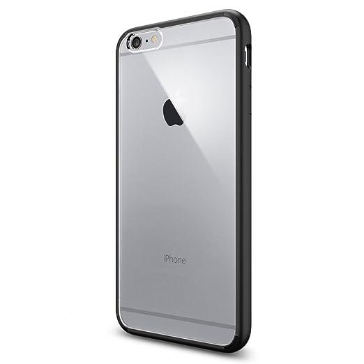 21 opinioni per Spigen SGP10898 Ultra Hybrid Custodia per iPhone 6 Plus, Nero