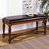 Waverley Dark Brown Leatherette Bench Review