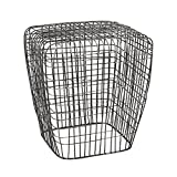 Dimond Home 3200-014 Woven Wire Stool, 18'' x 18'' x 20''
