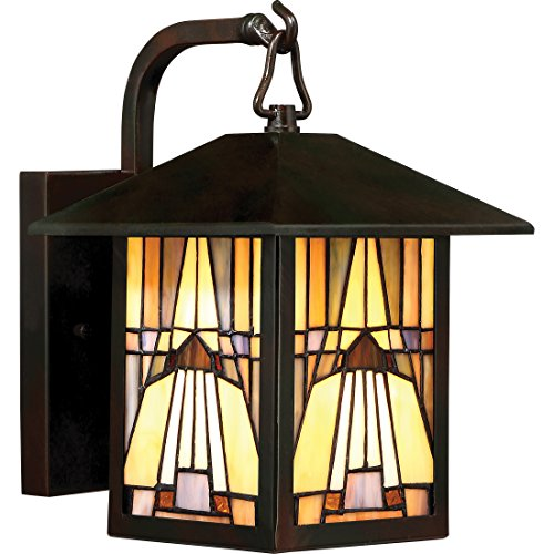 Outdoor Wall Light Stained Glass in US - 1