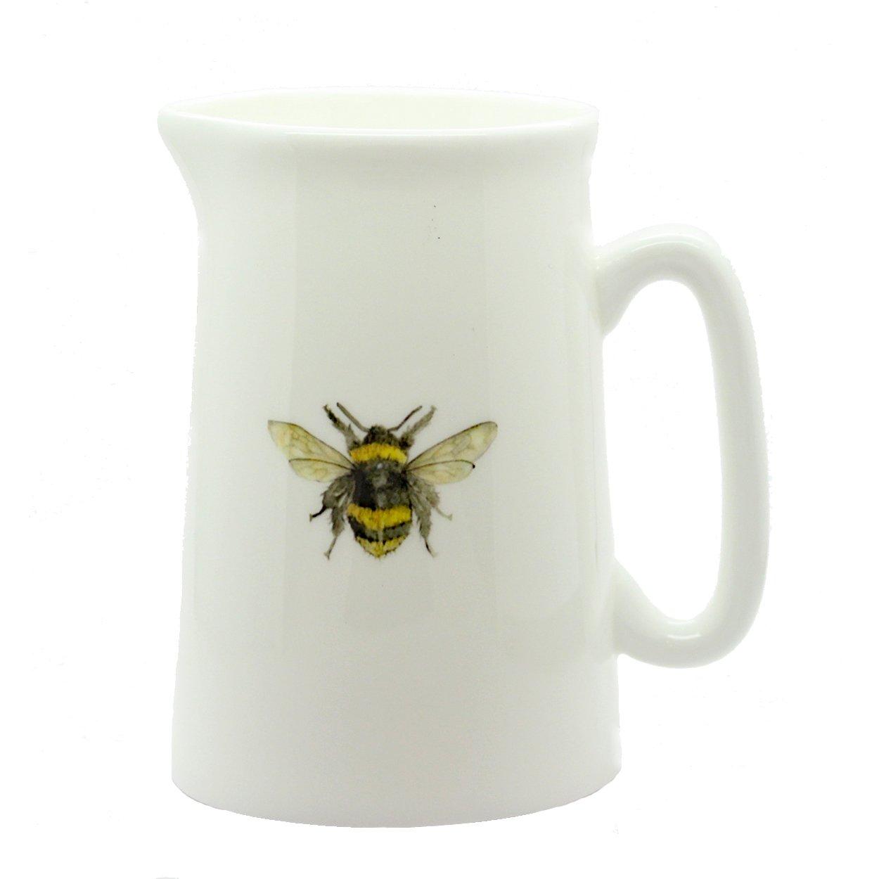 Bee Jug - Fine Bone China - Made in England The Skinny Card Company