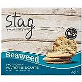 Stag Stornoway Seaweed Water Biscuits 125g - Pack of 6