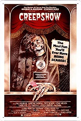 CREEPSHOW FILM MOVIE METAL TIN SIGN POSTER WALL PLAQUE