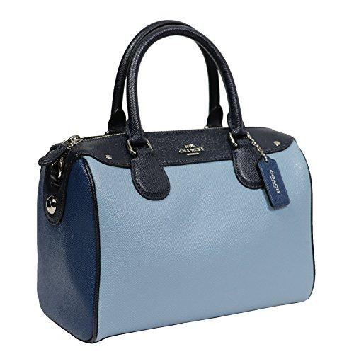 Blue Multi Color Handbag - 7