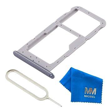 MMOBIEL Bandeja con Doble Tarjeta SIM Compatible con Huawei Honor 9 Lite 5.65 Pulg. (Gris) Incl. sim Pin