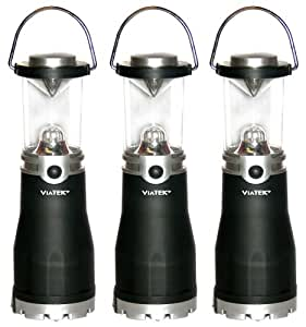 Viatek Hybrid Mini Lanterns, Set of 3