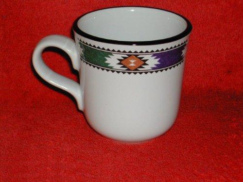 Noritake Kachina #8458 Coffee Mugs -  Noritake Stoneware