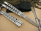 Icetek Sports Deluxe Metal Steel Practice Balisong Butterfly Trainer