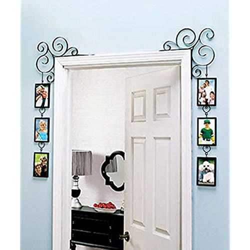 Attirant Doorway Corner Photo Frames Set Of 2 Door Decor Scroll Design Home Decor  Metal