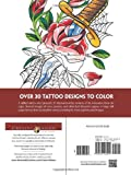 Creative Haven Floral Tattoo Designs Coloring Book (Adult Coloring)