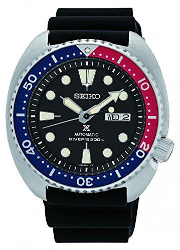 Seiko-SRP779K1-Orologio-da-polso-Uomo-Plastica-colore-Nero