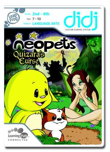 Leapfrog Didj Learning Game - LeapFrog Didj Custom Learning Game Neopets - Quizara's Curse