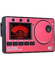 3-in-1 elektronische digitale tuner metronome geluid generator ingebouwde microfoon tuning LCD-display voor chromatische gitaar bas ukelele viool