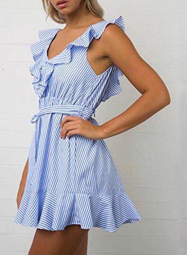 Futurino - Vestido - para mujer Azul