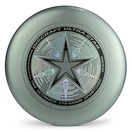 Discraft 175 gram Ultra Star Sport Disc - Silver by Discraft