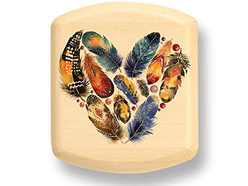 Feathered Heart Color Art Secret Box
