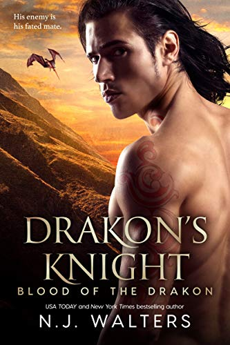 Drakon's Knight (Blood of the Drakon Book 7) by [Walters, N.J.]