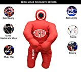 Jayefo Sports Kids Grappling Dummy Punching Bag for