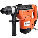 Homejoys 1-1/2'' SDS Drill, 1100W Electric Rotary Hammer, Plus Demolition Bits, Variable Speed, Orange