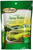 Mrs. Wages Quick Process Spicy Pickle Mix, Hot, 6.5 Ounce (Pack of 12)