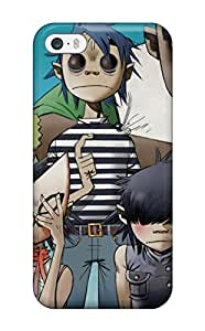 Iphone 5/5s Case Cover Skin : Premium High Quality Gorillaz Poster Case