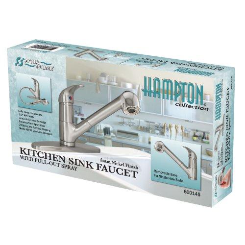 Aqua Plumb 1558021 CUPC AB1953 Kitchen Faucet