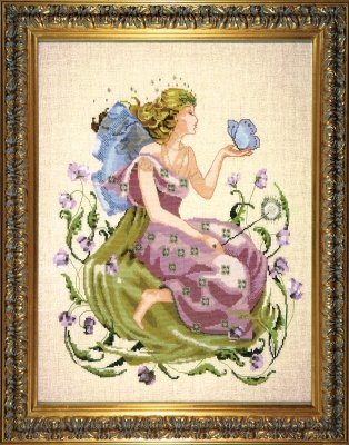 Chart Butterfly Pattern (Butterfly Fairy (MDL75) Cross Stitch Chart - Limited Edition)