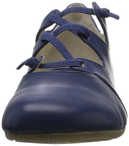 Josef Seibel Ladies Fiona 04 Chiuso Ballerine Blu (jeans)