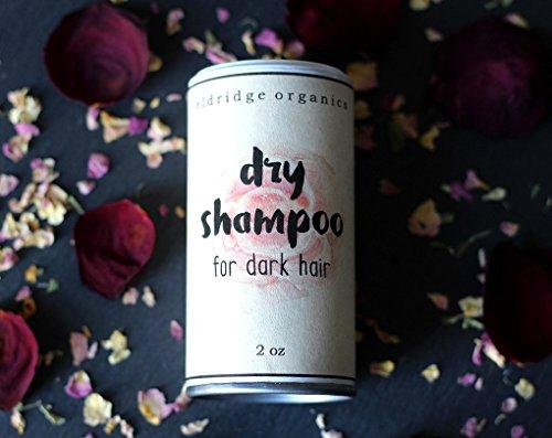 Dry Shampoo for Dark Hair - Organic Shampoo