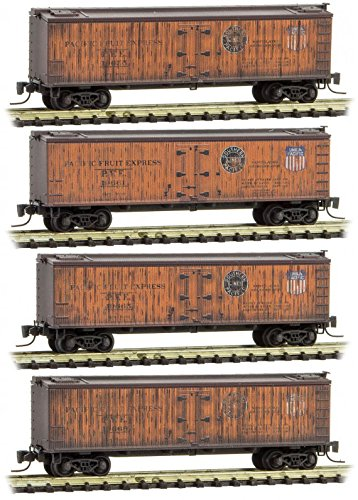 Micro-Trains MTL Z-Scale Wood Reefers Pacific Fruit for sale  Delivered anywhere in USA
