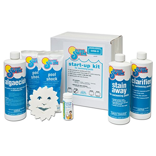 - In The Swim Deluxe Pool Opening Chemical Start Up Kit - Up to 15,000 Gallons