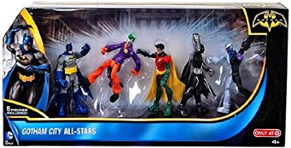 74dde656e145 Image Unavailable. Image not available for. Color  DC Comics Batman  Exclusive 3.75 Inch Action Figure 5-Pack Gotham City All-Stars