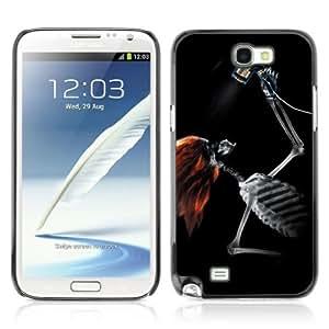 YOYOSHOP [Cool Skeleton X-Ray] Samsung Galaxy Note 2 Case